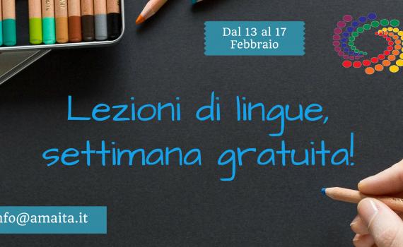 Lezioni di lingua, settimana gratuita (1)